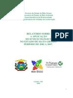 Relatório Icms Ecológico