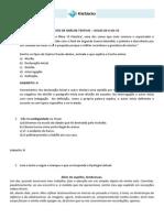 Exercícios de Revisão de Análise Textual – Aulas de 6 Até 10