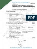 Elements of Civil Engineering & Engineering Mechanics June 2013 (2010)