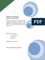 Empresa de Servicios Software Administrativo.