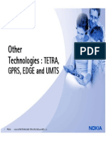 Explain m13 - 1 Other Technologies Tetra Gprs Edge Umts
