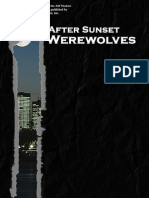 d20 Modern - After Sunset, Werewolves