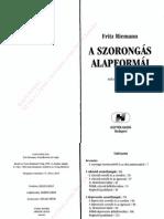Fritz Riemann - A Szorongás Alapformái
