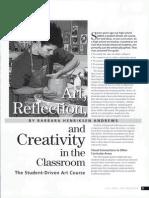 student -driven art