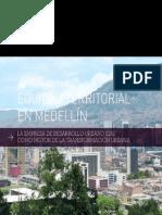 Equidad territorial en Medellín - EDU como motor de la Transformacion