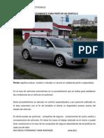 Procedimientos Peritaje Vehiculos Livianos