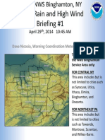Weather Service Briefing 04 29 14