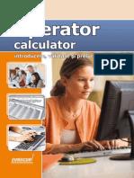 10021 Lectie Demo Operator Calculator - Introducere Prelucrare Si Validare Date
