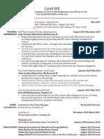 cyndi hill resume 2014 web
