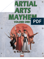 d20 Modern - Martial Arts Mayhem, Vol 1