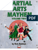 d20 Modern - Martial Arts Mayhem, Vol 2