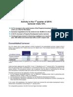 140429 - PR - Icade_Q1_2014 Activity