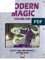 d20 Modern - Modern Magic Volume 1