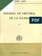 Manual de Historia de la Iglesia 4. La Iglesia de la Edad Media después de la Reforma Gregoriana (H. Jedin)