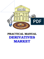 Practical Manual for Derivatives Market