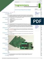 ATmega 40-Pin Development Board AVR Programmers