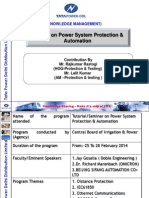 Tutorial & Seminar on Power System Protection & Automation (2)