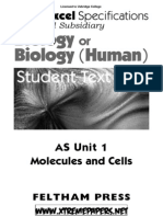 Edexcel Biology Unit 1 notes
