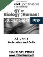 Edexcel Biology Unit 1 notes