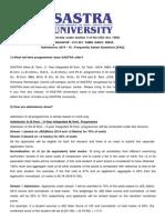 Admision FAQ 14-15