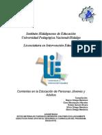 03 Corrientes en La Educacion de Personas Jovenes y Adultas