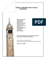 Cloud Computing - UC Berkley view