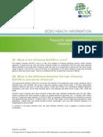 0906 Influenza AH1N1 FAQ