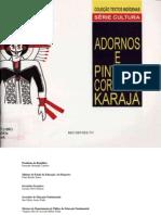 Adornos e pintura corporal Karajá