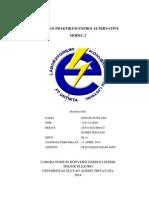 Laporan Praktikum Energi Alternative Modul 2