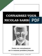 Connaissez-vous Nicolas Sarkozy ?