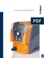 Bombas Sistemas Dosificacion Componentes Catalogo de Productos ProMinent Folio 1
