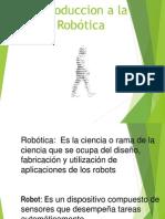 3.1 3.2 Introduccion a La Robótica