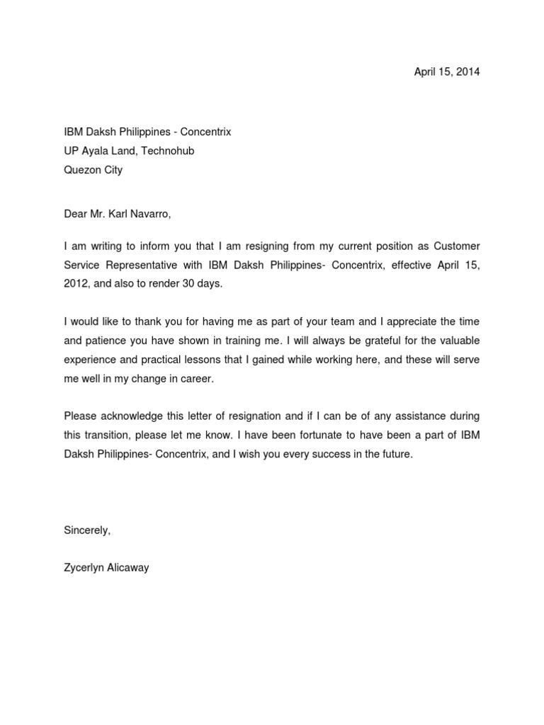 Resignation letter altavistaventures Images