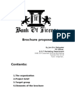 Corporate Writing Brochure Proposal