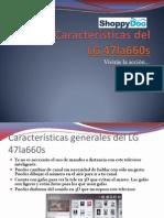 Características Lg 47la660s