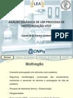 Modelagem e Simulação Do Processo de Pasteurização