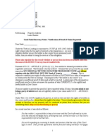 Initial DEMAND Letter to Lender