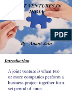 Joint Venture in INDIAN Prospects