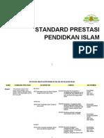 Standard Prestasi Pendidikan Islam t 1