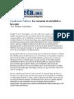 28-04-2014 Gaceta.mx - Lo esencial es invisible a los ojos.