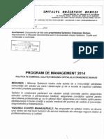 Program de Management 2014
