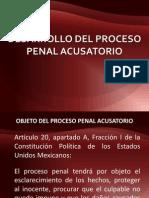 2 Desarrollo Del Proceso Penal Acusatorio