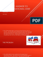 what is the answer to solve the national debt issue