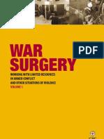 War surgery
