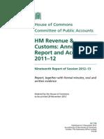 HM Revenue & Customs Annual Report and Accounts 2011–12
