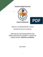 Plan de Negocios Simon Bolivar
