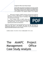 The AtekPC Project Management Office Case Study Analysis.docx