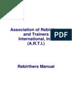 Rebirthing Manual 2001