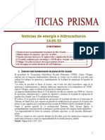 Noticias de Energa e Hidrocarburos 14.05.2013