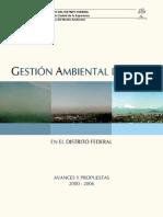 Gestion Ambiental Del Aire en El Distrito Federal Secretaria Del Medio Ambiente Df